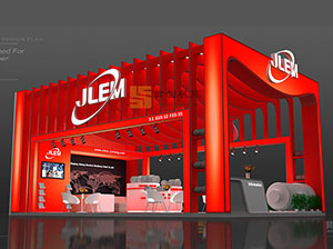 金龙机电 龙8国际娱乐电脑版展台设计案例