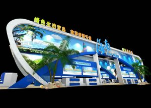 海南旅游岛  特装搭建